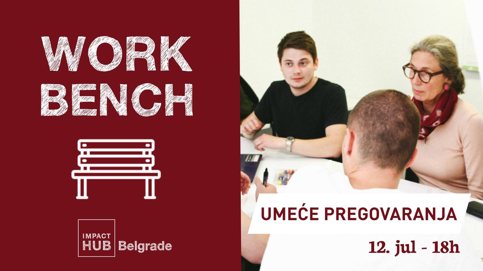 12.jul - Workbench - Umeće pregovaranja