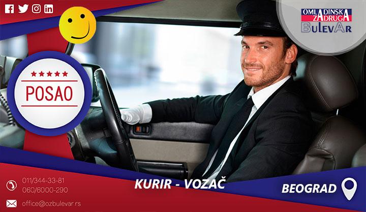 Kurir - vozač   Posao, Beograd