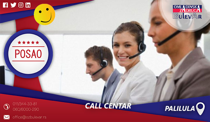 Call centar | Posao, Palilula