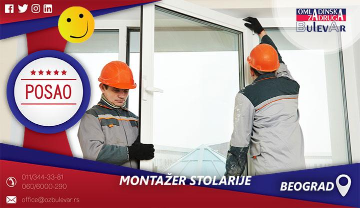 Montažer stolarije | Posao, Beograd