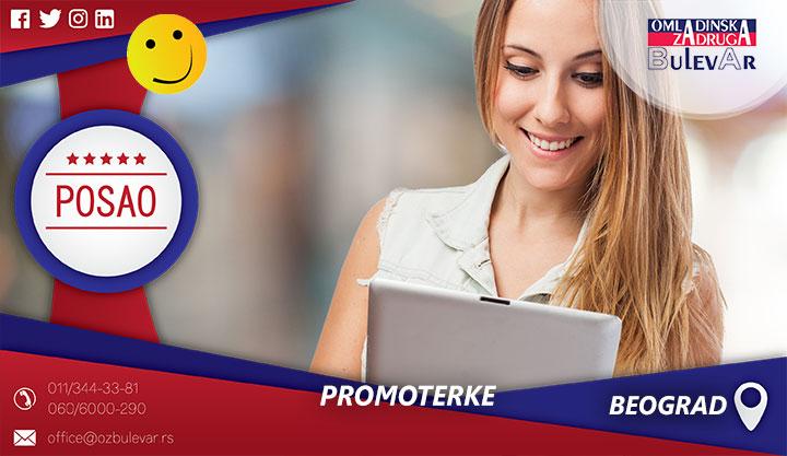 Promoterke | Posao, Beograd