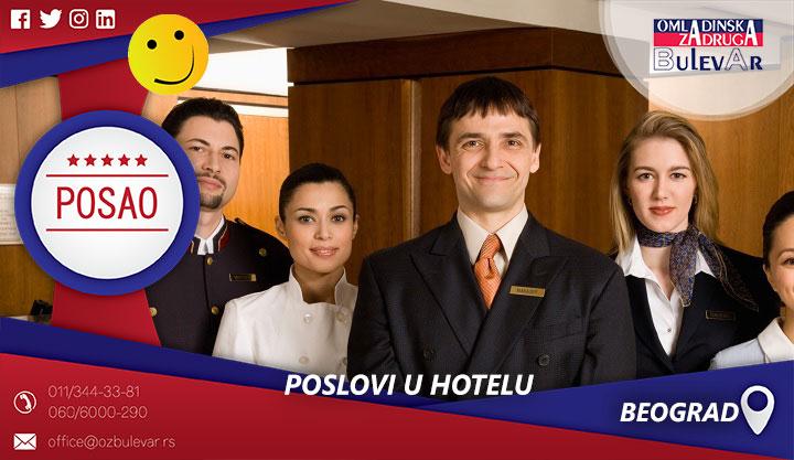 Poslovi u hotelu | Posao, Beograd
