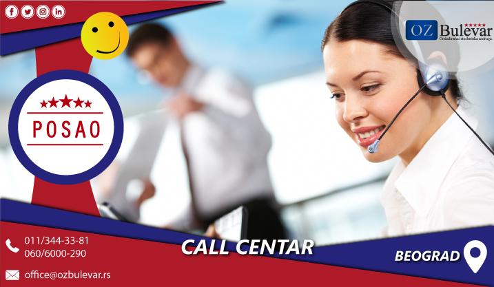 Call centar | Posao, Beograd