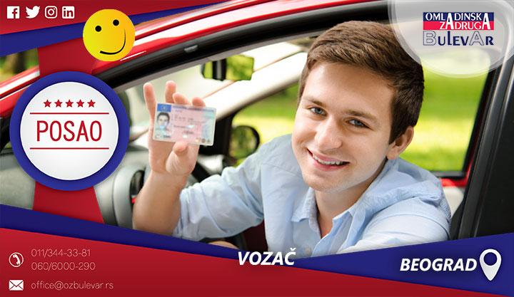 Vozač - rent a car | Posao, Beograd