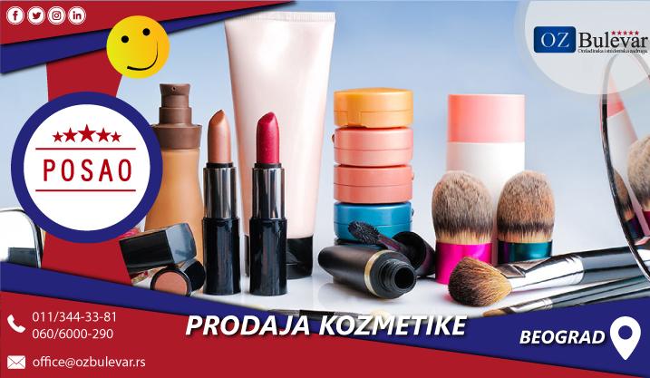 Prodaja kozmetičkih preparata   Posao, Beograd