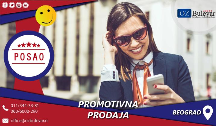 Promotivna prodaja | Posao, Beograd