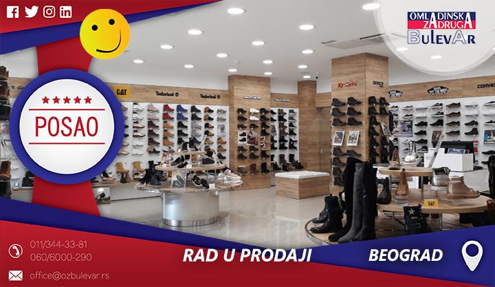 Rad u prodaji | Posao, Beograd