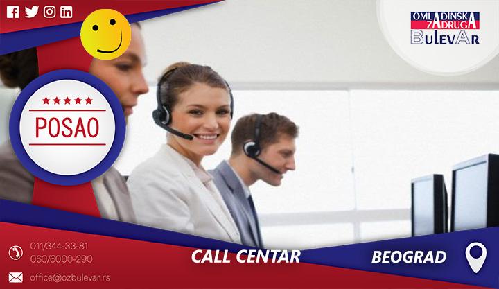 Call centar   Oglasi za posao, Beograd