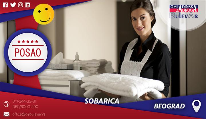 Sobarica | Oglasi za posao, Beograd