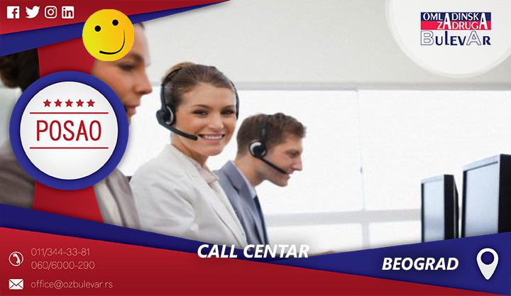 Call centar | Oglasi za posao, Beograd