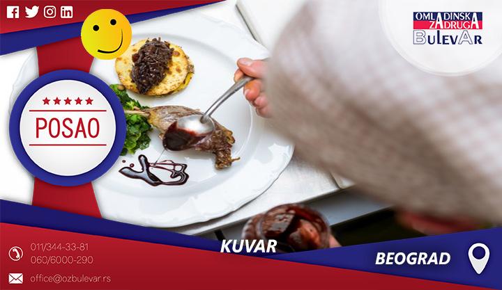 Kuvar | Oglasi za posao, Beograd