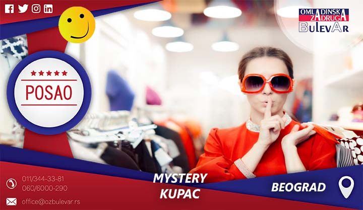 Mystery kupac | Oglasi za posao, Beograd
