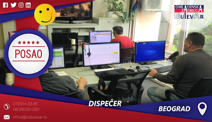Dispečer | Oglasi za posao, Beograd
