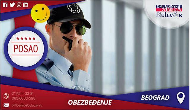 Obezbeđenje | Oglasi za posao, Beograd