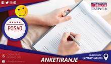 Anketiranje slučajnih prolaznika | Beograd