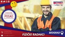 Fizički radnici - Montažeri / Poslovi, Beograd na vodi