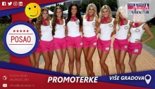 Promoterke | Posao, Beograd, Subotica, Jagodina, Paraćin, Sremska Mitrovica, Ruma