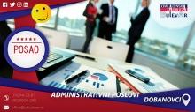 Administrativni posao   Posao, Dobanovci