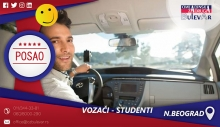 Vozači - studenti   Posao, Beograd