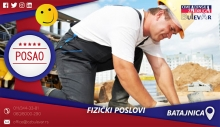 Fizički poslovi   Posao, Batajnica