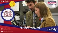 Pomoćni prodavac   Posao, Beograd, TC Ušće