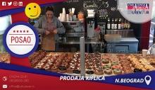 Prodaja kiflica   Posao, Novi Beograd