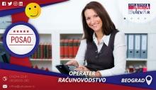 Operater - knjigovodstvo   Poslovi, Beograd