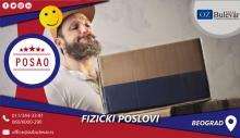 Fizički poslovi | Posao, Beograd