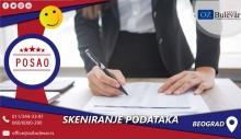 Skeniranje i priprema podataka | Posao, Beograd