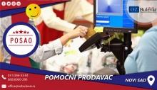 Pomoćni prodavac | Posao, Novi Sad