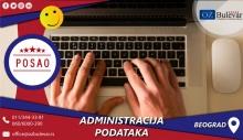 Administracija podataka | Poslovi, Beograd