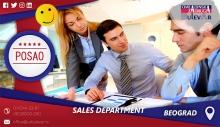 Sales Department | Oglasi za posao, Beograd