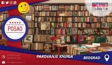 Pakovanje knjiga | Oglasi za posao, Beograd