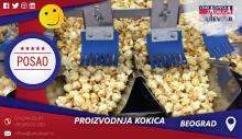 Proizvodnja kokica | Oglasi za posao, Beograd
