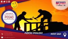 Fizički poslovi | Oglasi za posao, Novi Sad