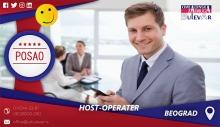 Host-Operater | Oglasi za posao, Beograd