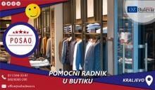 Pomoćni radnik u butiku   Oglasi za posao, Beograd