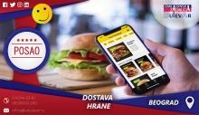 Dostava hrane | Oglasi za posao, Beograd