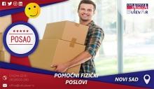 Pomoćni fizički poslovi | Oglasi za posao, Novi Sad