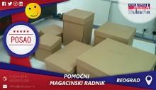 Pomoćni magacinski radnik | Oglasi za posao, Beograd